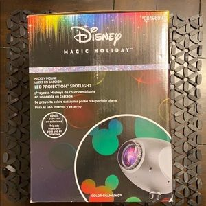 Disney magic holiday LED projection spotlight